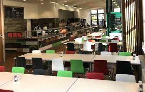 Betriebsrestaurant Berlin mit vegetarischem Essen