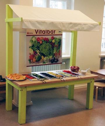 Vitalbar – frisches Obst und Gemüse